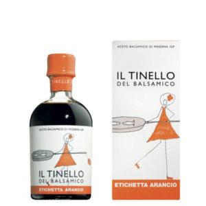 aceto-balsamico-di-modena-IGP-il-tinello-etichetta-arancio