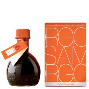 etichetta arancio