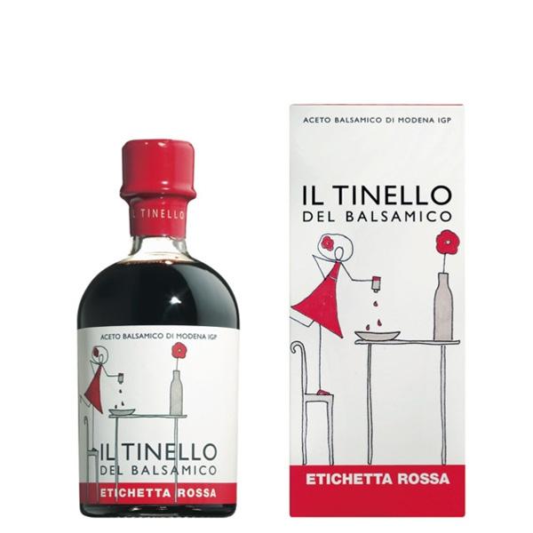 L'Aceto Balsamico di Modena IGP del tinello etichetta rossa