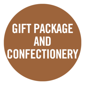 Gift package and confectionery