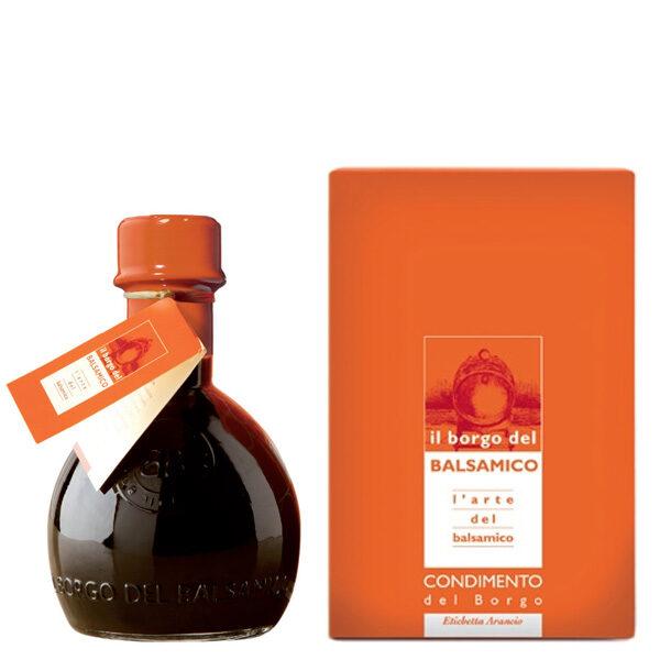 condiemnto del borgo etichetta arancio